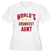 World's Drunkest Aunt T-Shirt
