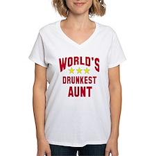 World's Drunkest Aunt Shirt