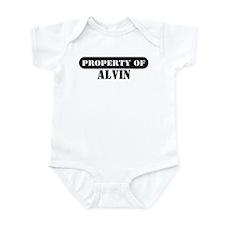 Property of Alvin Infant Bodysuit