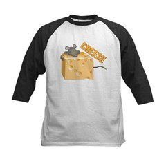 Mouse 'n Cheese Kids Baseball Jersey