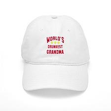 World's Drunkest Grandma Baseball Cap