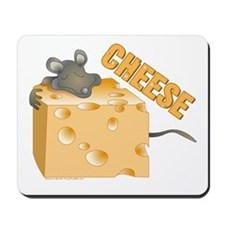 Mouse 'n Cheese Mousepad