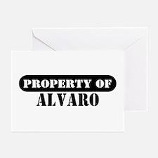 Property of Alvaro Greeting Cards (Pk of 10)
