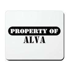 Property of Alva Mousepad