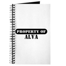 Property of Alva Journal