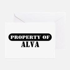 Property of Alva Greeting Cards (Pk of 10)