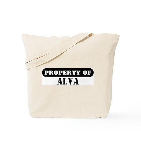 Property of Alva Tote Bag