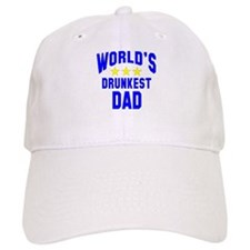 World's Drunkest Dad Baseball Cap