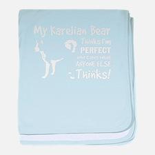 Karelian Bear tshirt, my Karelian Bea baby blanket