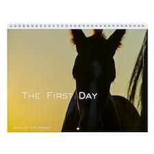 Foals First Day Wall Calendar