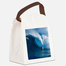 Big Wave Surfing Canvas Lunch Bag