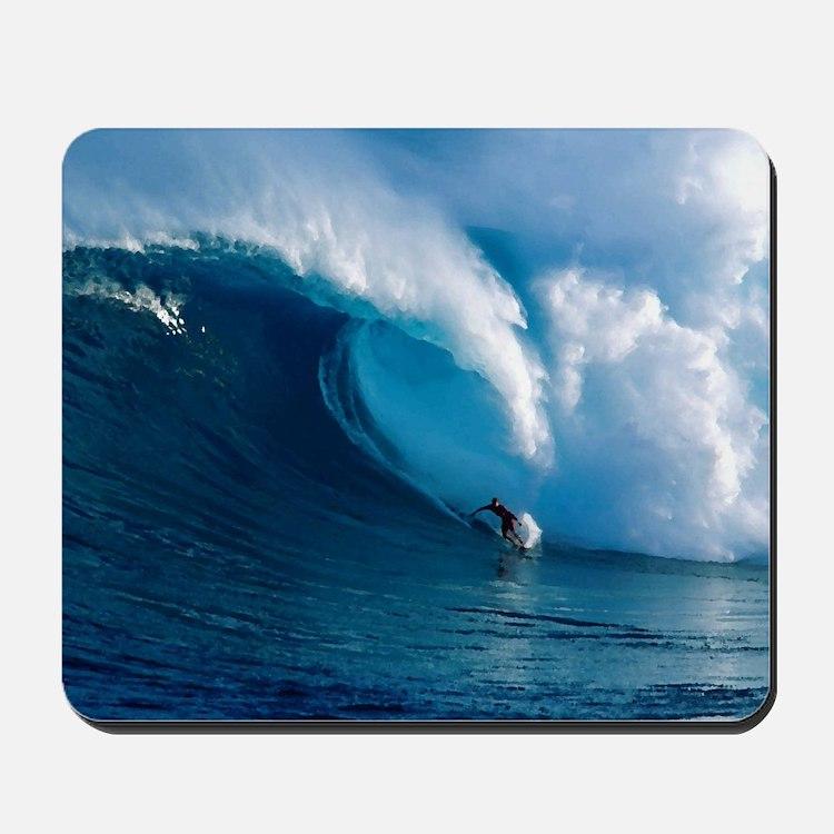 Big Wave Surfing Mousepad