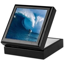Big Wave Surfing Keepsake Box