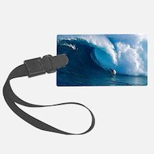 Big Wave Surfing Luggage Tag