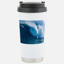 Big Wave Surfing Travel Mug