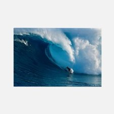 Big Wave Surfing Rectangle Magnet