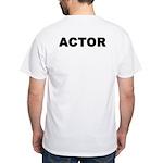 ACTOR White T-Shirt