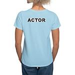 ACTOR Women's Pink T-Shirt