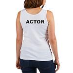 ACTOR Women's Tank Top