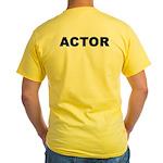 ACTOR Yellow T-Shirt