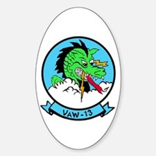 VAW 13 Zappers Oval Decal