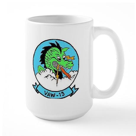 VAW 13 Zappers Large Mug