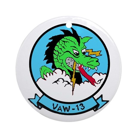 VAW 13 Zappers Ornament (Round)