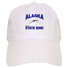 Alaska State Bird Baseball Baseball Cap