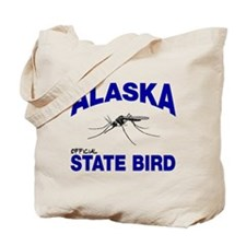 Alaska State Bird Tote Bag