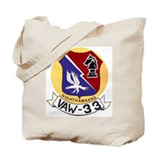 VAW 33 Knighthawks Tote Bag