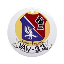 VAW 33 Knighthawks Ornament (Round)