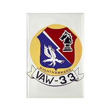 VAW 33 Knighthawks Rectangle Magnet