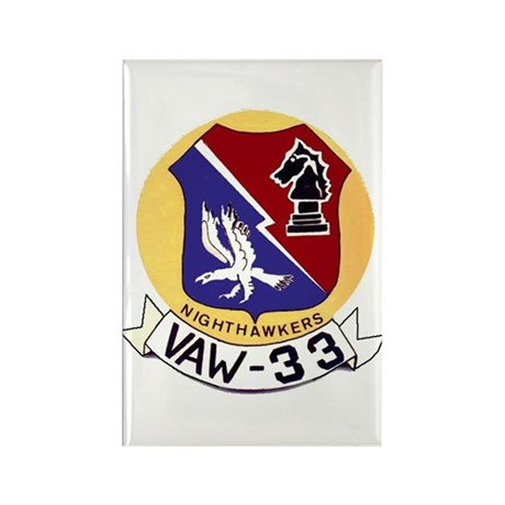 VAW 33 Knighthawks Rectangle Magnet
