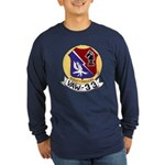 VAW 33 Knighthawks Long Sleeve Dark T-Shirt
