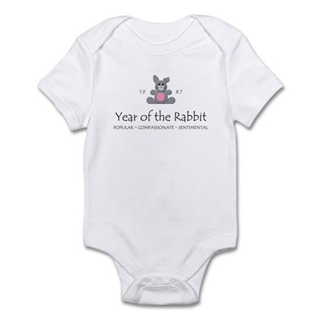 """Year of the Rabbit"" [1987] Infant Bodysuit"