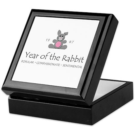 """Year of the Rabbit"" [1987] Keepsake Box"