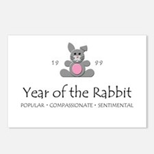 """""""Year of the Rabbit"""" [1999] Postcards (Package of"""