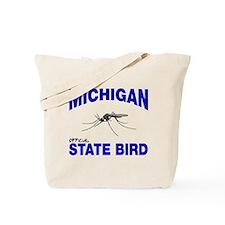 Michigan State Bird Tote Bag