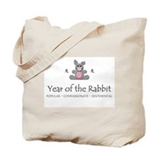 """""""Year of the Rabbit"""" Tote Bag"""