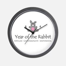 """Year of the Rabbit"" Wall Clock"