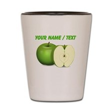 Custom Green Apples Shot Glass