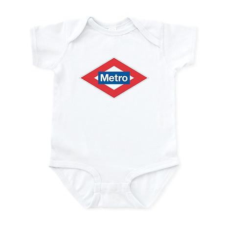 Madrid Metro Infant Bodysuit