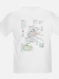 Madrid Metro Kids T-Shirt