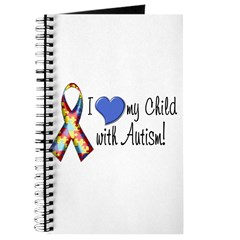 I love my child with autism Journal
