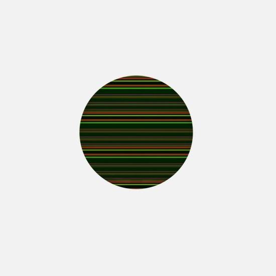Small Green Grunge Mini Button