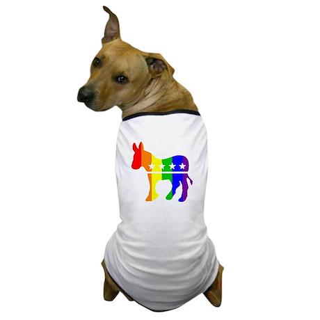 Democratic Pride Dog T-Shirt
