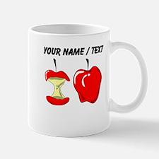 Custom Red Apples Mugs