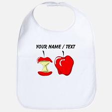 Custom Red Apples Bib