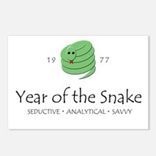 """""""Year of the Snake"""" [1977] Postcards (Package of 8"""