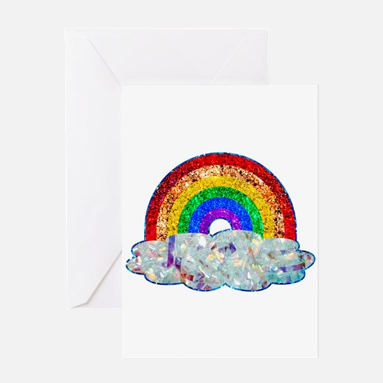 Glitter & Be Gay Greeting Cards